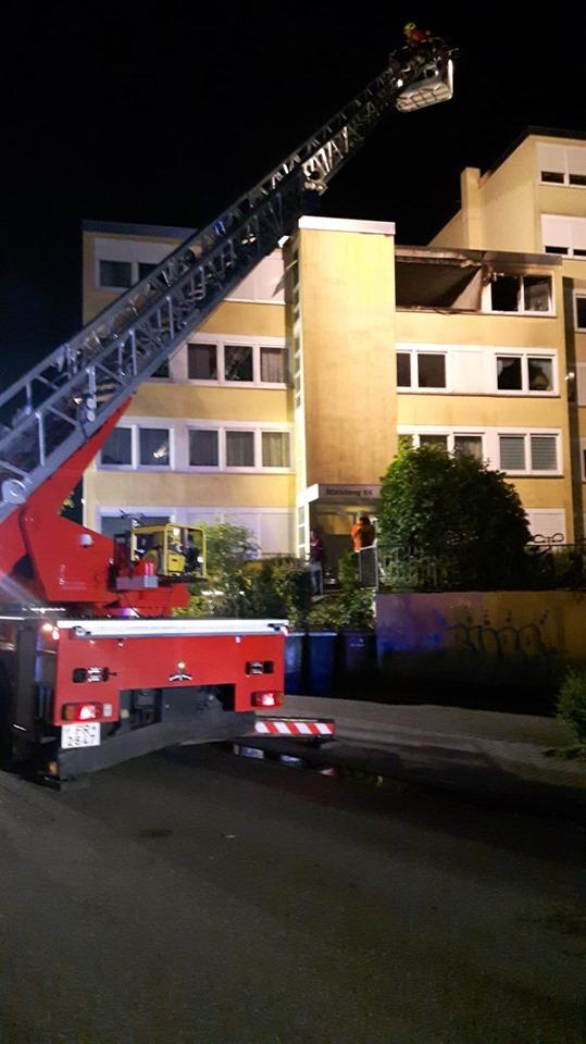 Einsatz 19-15: B4 Wohnungsbrand